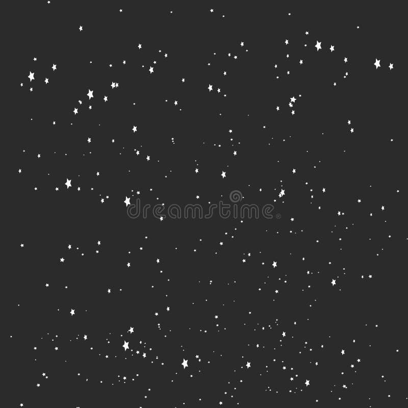 Gwiazdowy kosmosu czerni tło
