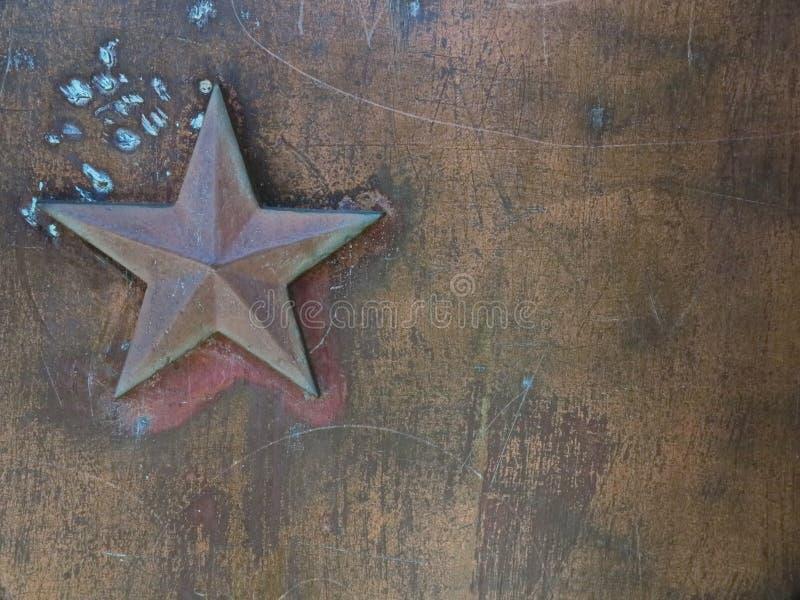 Gwiazdowy metalu tło obrazy royalty free