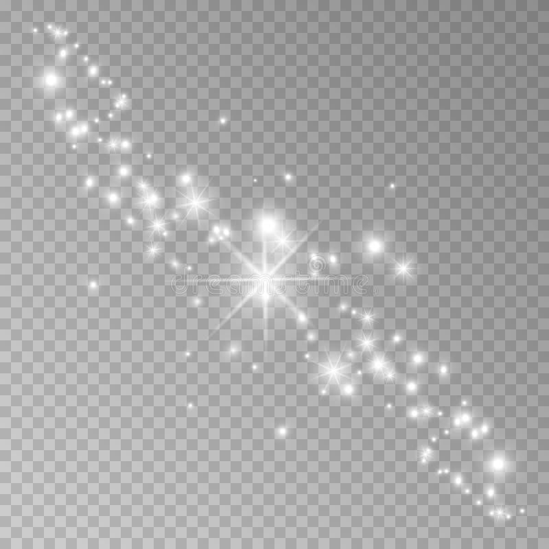 Gwiazdowy pył royalty ilustracja