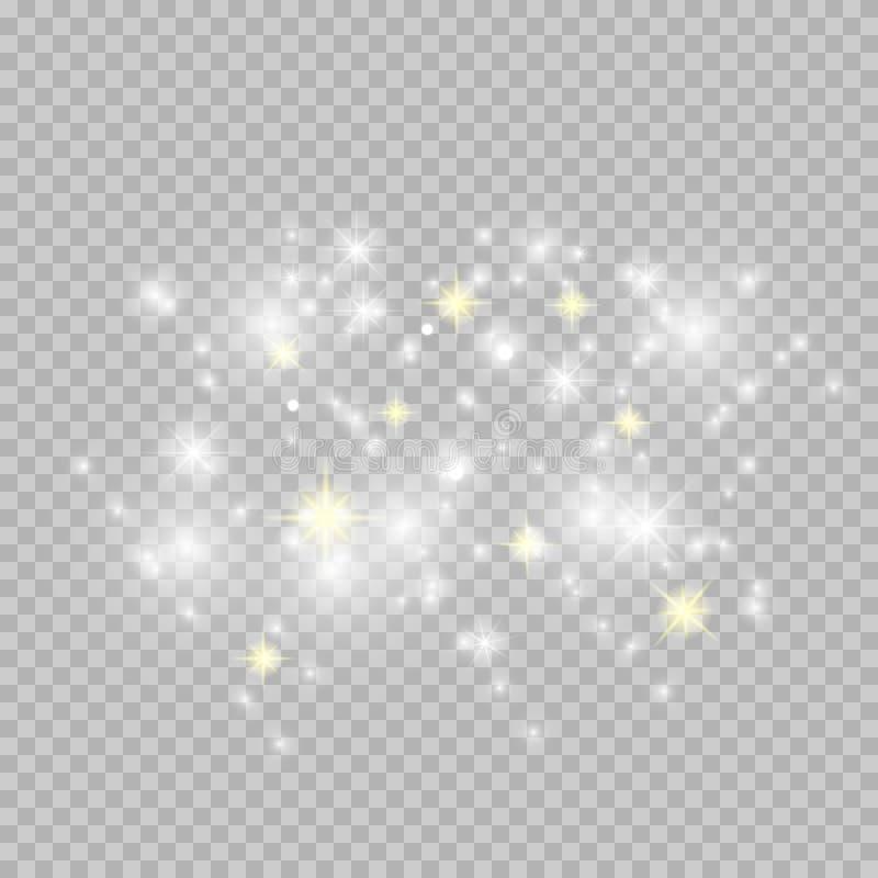 Gwiazdowy pył ilustracja wektor