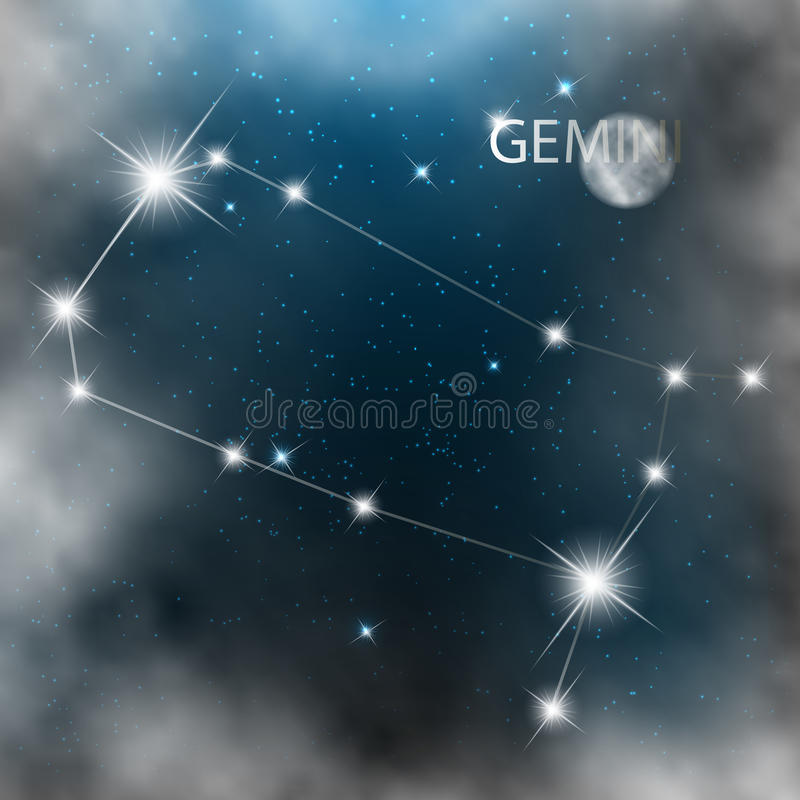 Download Gwiazdozbiór Szyldowe Jaskrawe Gwiazdy W Kosmosach Ilustracja Wektor - Ilustracja złożonej z urodziny, ogień: 28969754