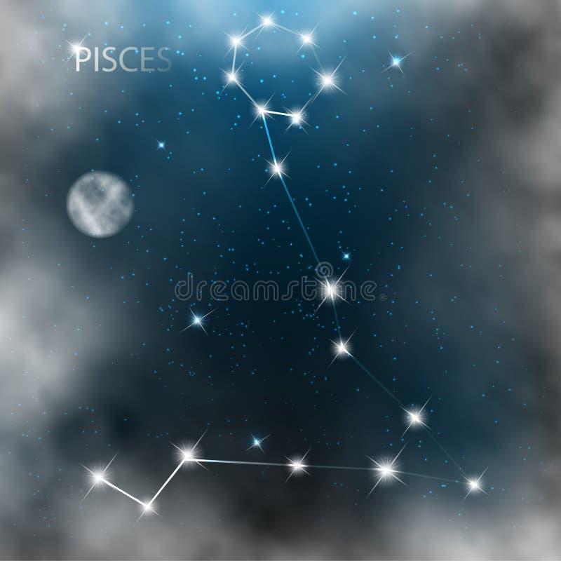 Download Gwiazdozbiór Szyldowe Jaskrawe Gwiazdy W Kosmosach Ilustracja Wektor - Ilustracja złożonej z chmura, pozaziemski: 28969847