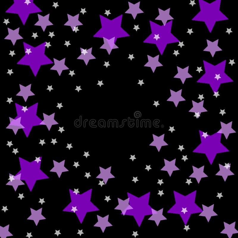 gwiazdy nieba royalty ilustracja
