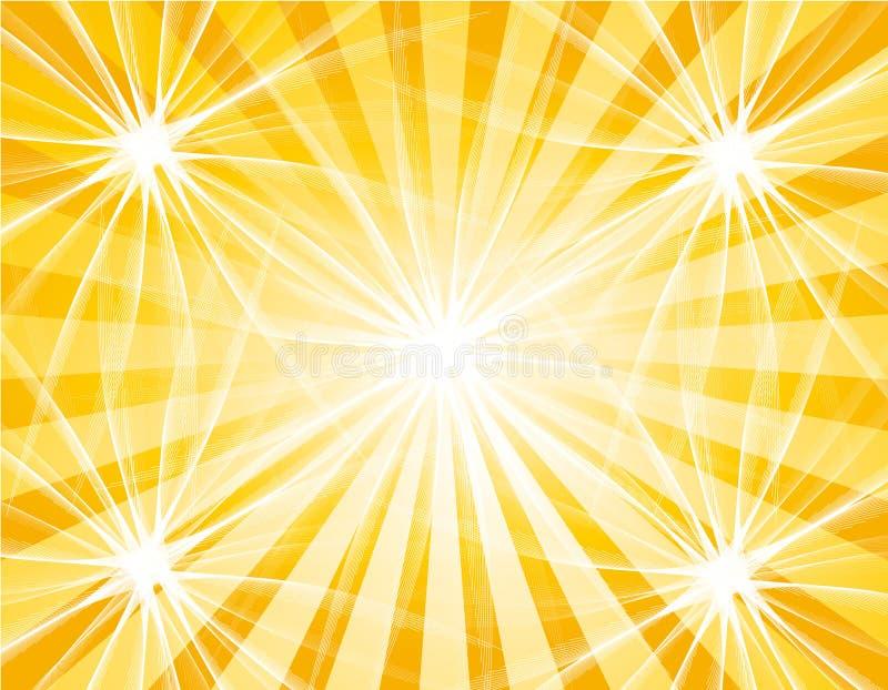 gwiazdy słońce ilustracja wektor