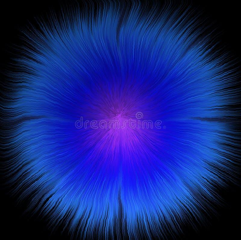 Gwiazdy zamarznięta gwiazda na czarnym tle royalty ilustracja