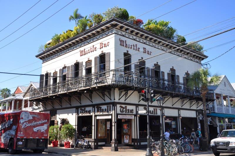 Gwizd bar, Key West, Floryda zdjęcie royalty free