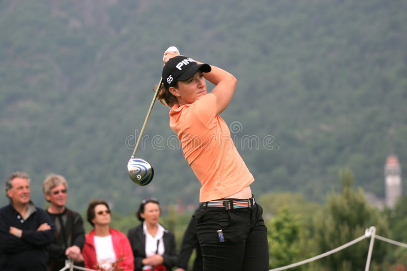 Gwladys Nocera, Losone 2007, senhoras do golfe européias foto de stock