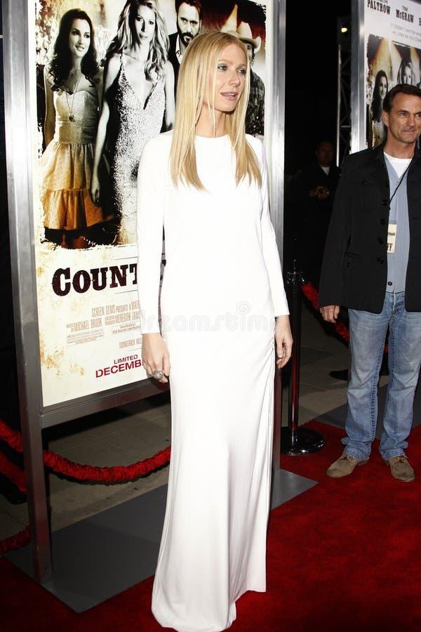 Gwyneth Paltrow imagen de archivo libre de regalías