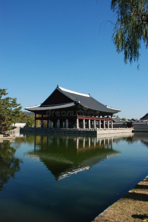 gyengbokgung pałac Seoul obrazy royalty free