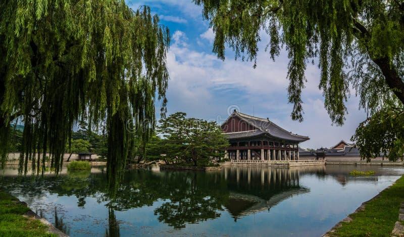 Gyeongbokgung pałac aneks obraz stock