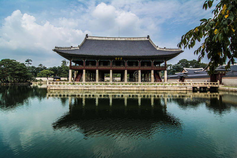 Gyeongbokgung pałac aneks obrazy stock