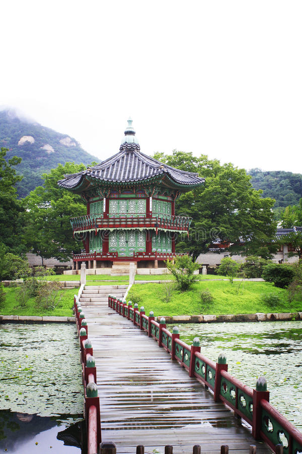 Gyeongbokgung palace. royalty free stock photos