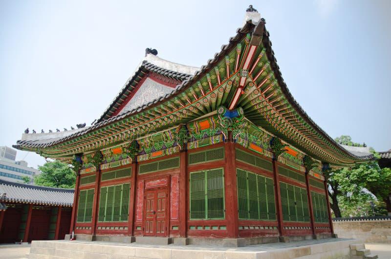 Gyeongbokgung Palast in Seoul, Korea lizenzfreies stockbild