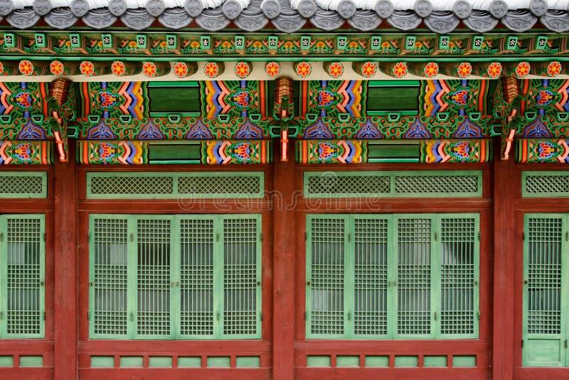 Gyeongbokgung slott, Seoul, Sydkorea royaltyfria foton