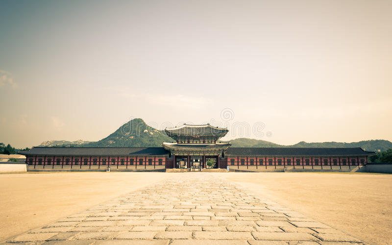 Gyeongbokgungs-Palast lizenzfreies stockfoto