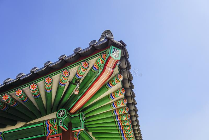 Gyeongbokpaleis royalty-vrije stock foto