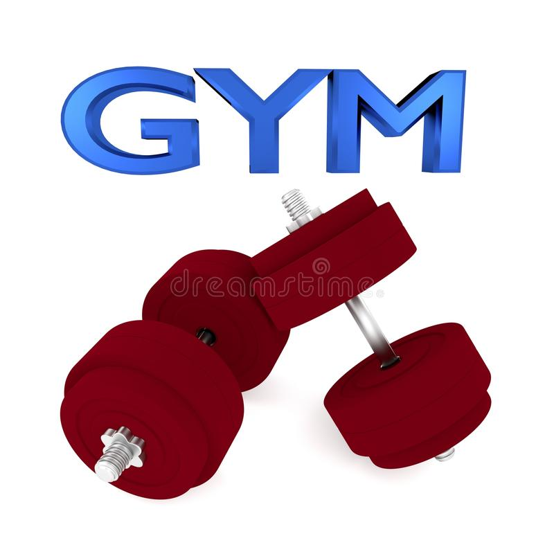 Download Gym stock illustration. Image of building, fitness, barbell - 27031008