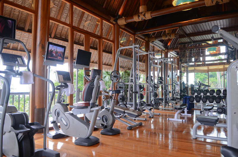 Gym fotografia de stock royalty free