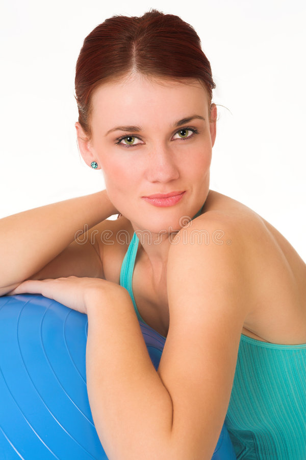 Download Gym #44 stock image. Image of brunette, condition, hair - 1037421