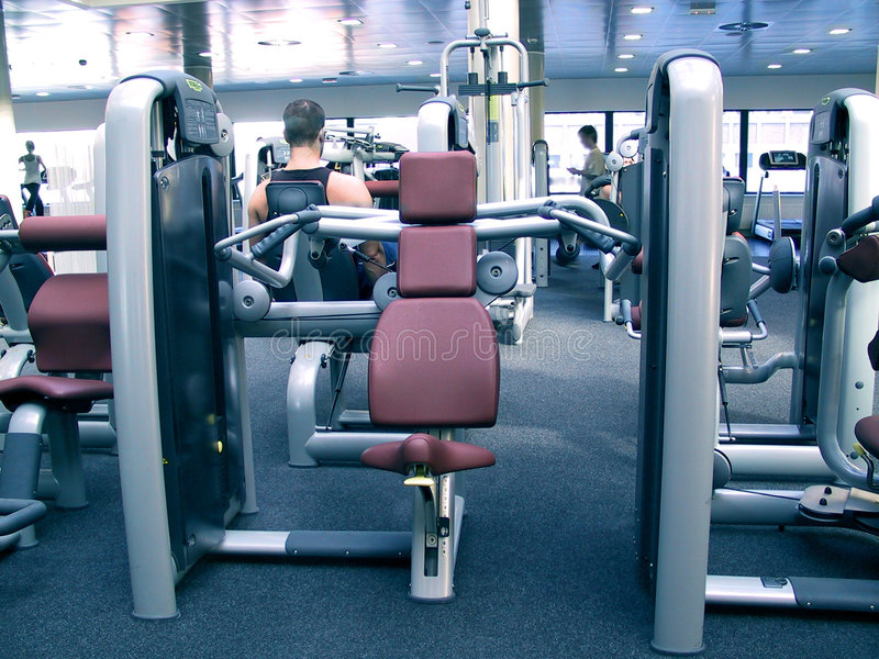 Gym royalty free stock photos