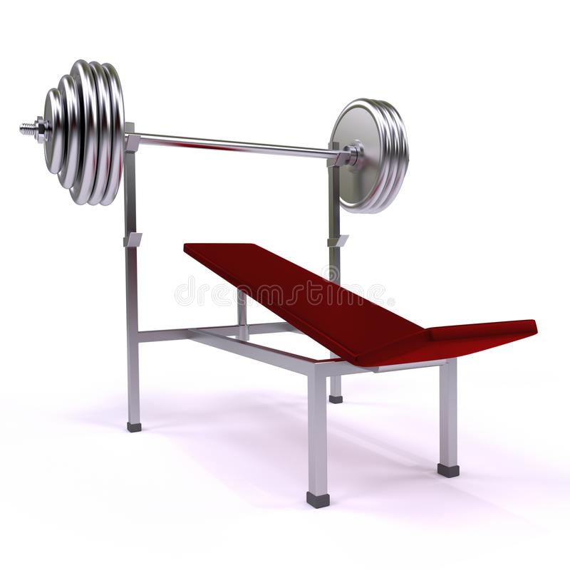 Gym aparat ilustracji