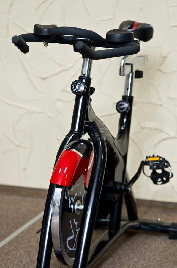 Gym bike royalty free stock photos