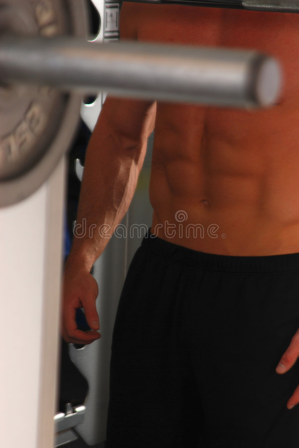 Gym Body 6 Stock Images