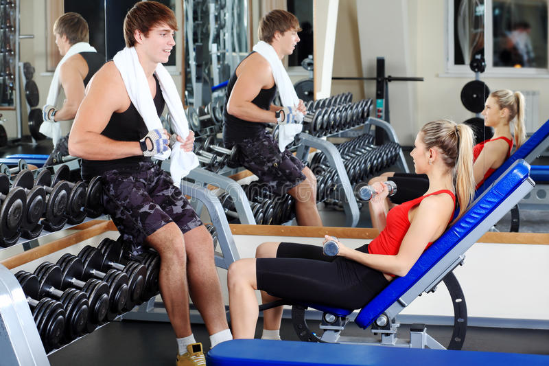 Gym Centre Stock Images