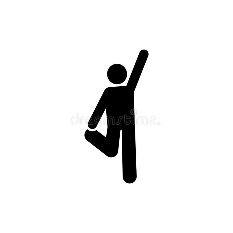 Gym, ciężar, sport, ćwiczenie ikona Element gym piktogram Premii ilo?ci graficznego projekta ikona znaki i symbole inkasowi ilustracji