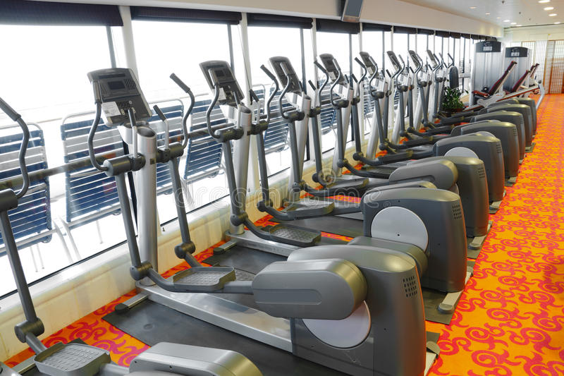 Download Gym equipment stock image. Image of club, exclusive, machine - 20763945