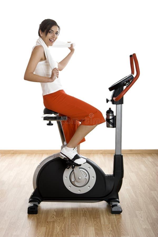 Gym exercise royalty free stock image