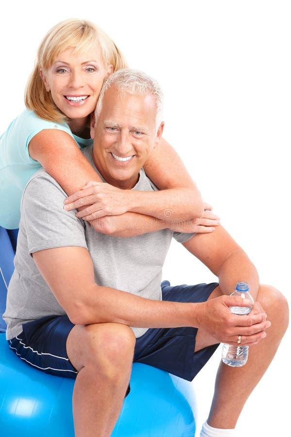 Gym & Fitness royalty free stock photos
