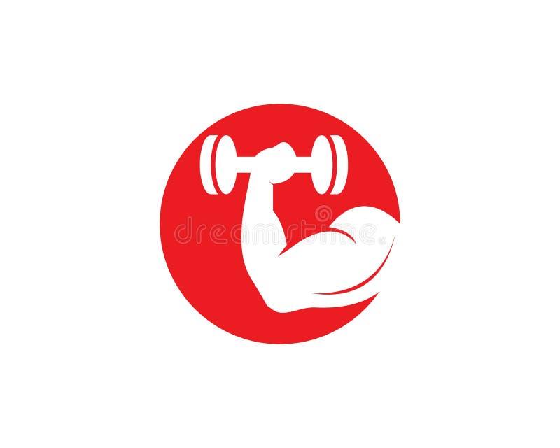 Gym,fitness icon logo  illustration. Man model muscular training male winner builder strong sportsman chest boy power bodybuilding symbol arm element muscle vector illustration