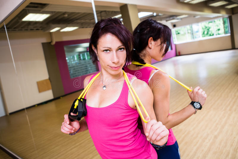 Download Gym girl stock photo. Image of exercises, young, taibo - 26425490