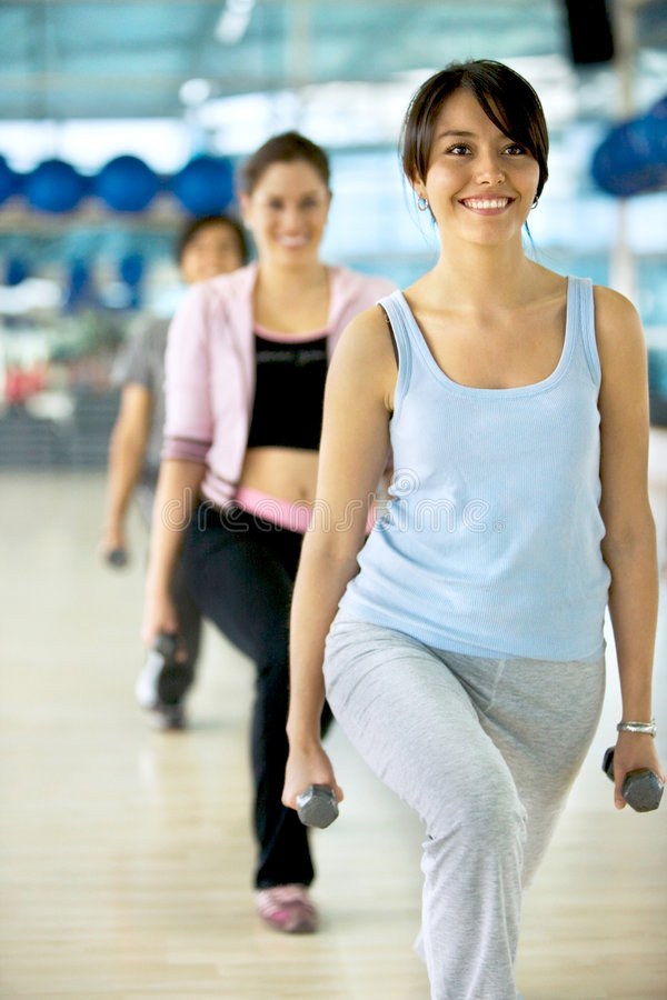 Download Gym group exercising stock photo. Image of muscles, lifestyle - 8573094