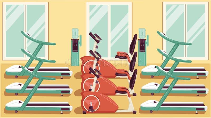 Gym Kolorowi 04 royalty ilustracja