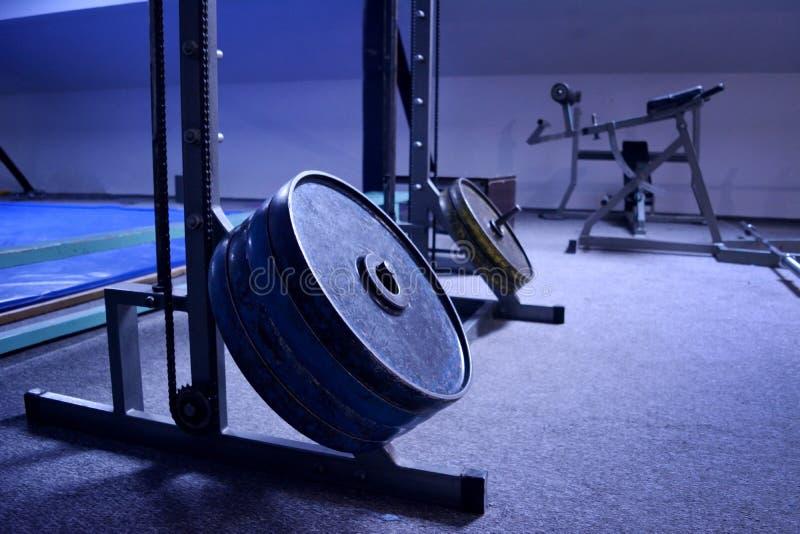 Gym lub sporta klub w szczegółach fotografia stock