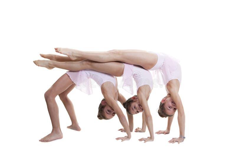 Gym lub taniec klasa zdjęcia stock