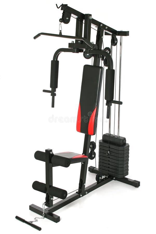 Gym machine stock photography