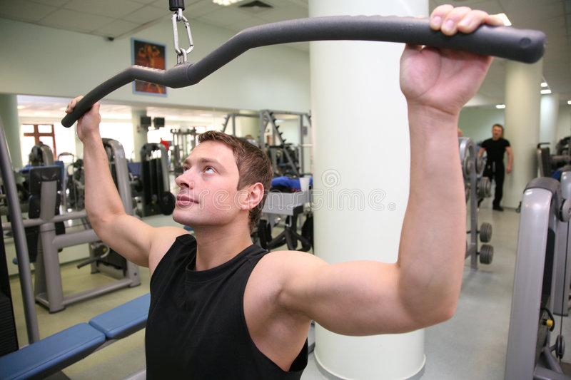 Download Gym man in health club 3 stock image. Image of energy - 2238601