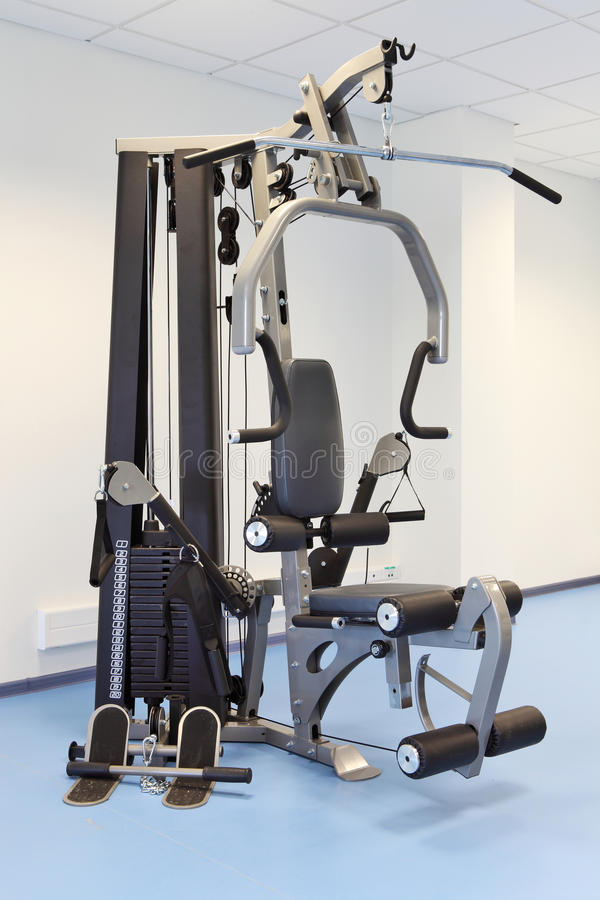 Download Gym And Muscle Machine Stock Photo - Image: 16573700