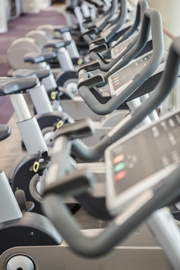Gym with no people royalty free stock images