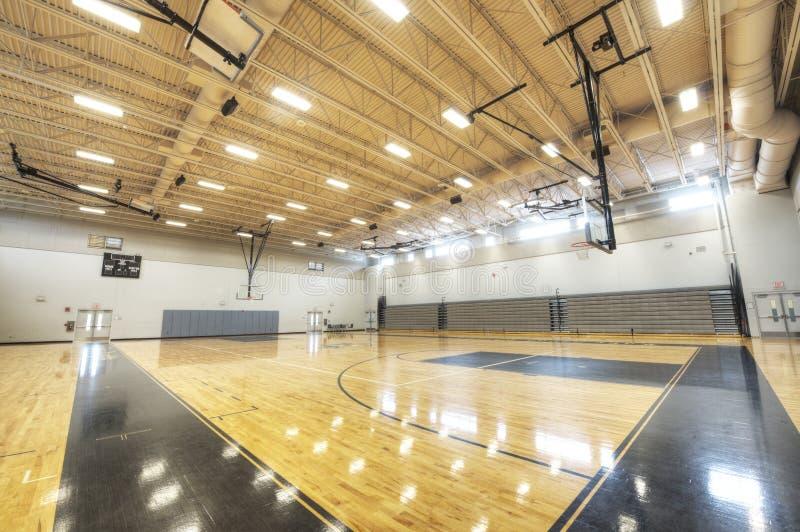 Gym przy Szkołą Średnią w Floryda fotografia stock
