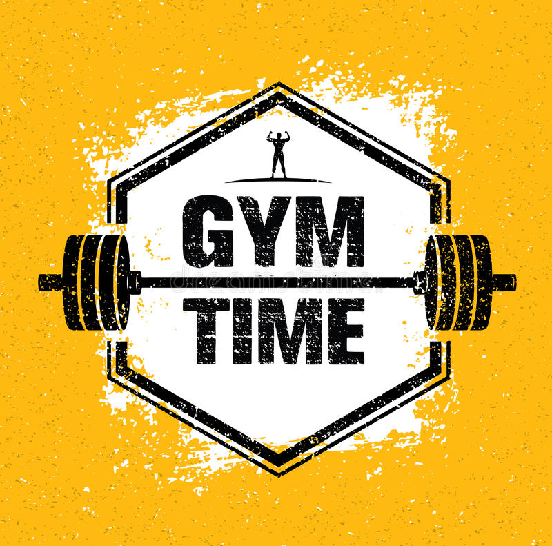 gym time workout and fitness design element concept creative vector rh dreamstime com abstract vector grunge style backgrounds black grunge vector background
