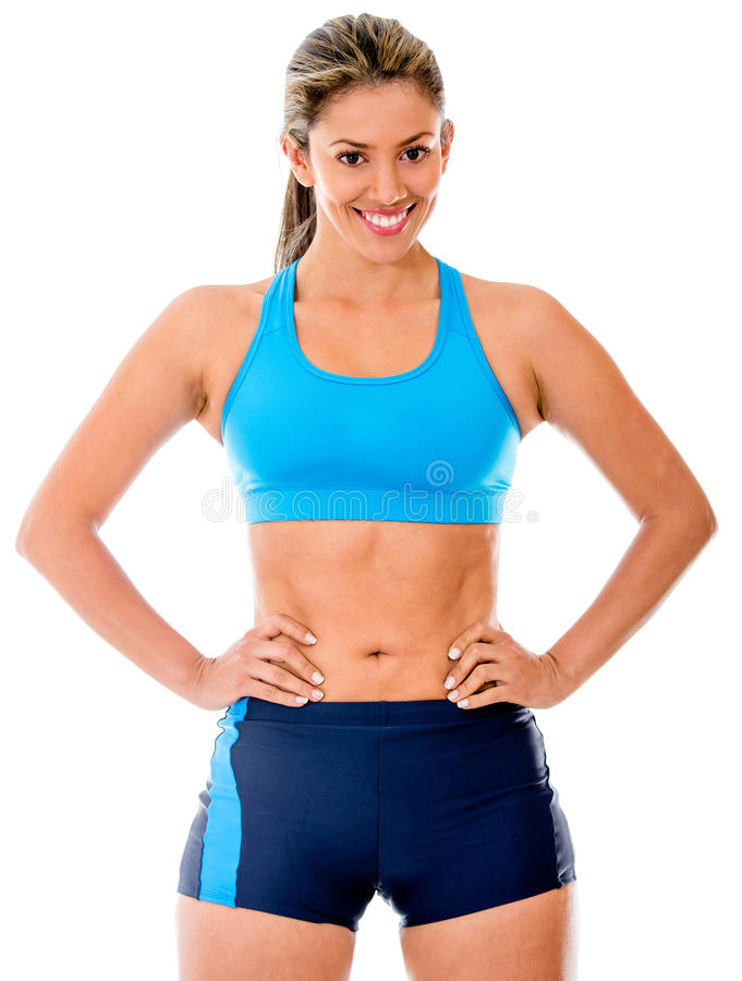 Download Gym woman stock photo. Image of body, people, sportswear - 25593172
