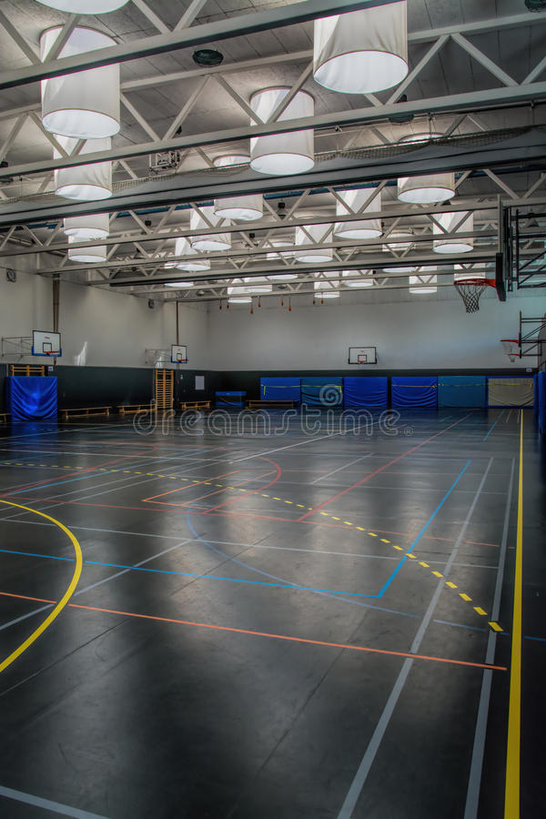 gymnasium fotografia stock