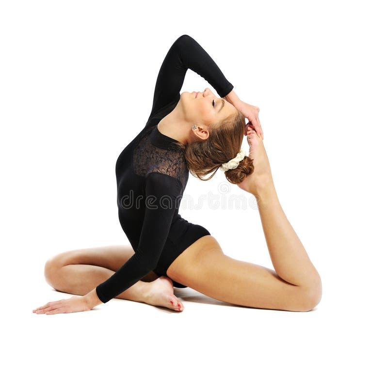 Gymnast κορίτσι στοκ φωτογραφίες
