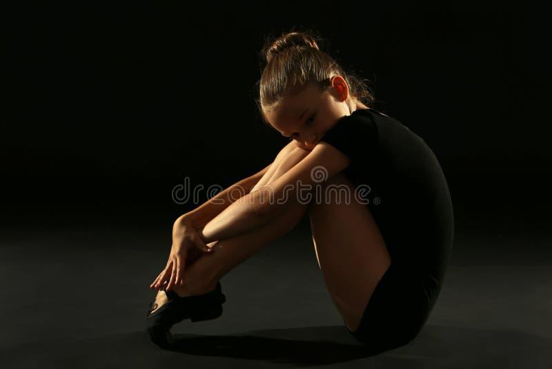 Gymnast κοριτσιών στοκ εικόνα με δικαίωμα ελεύθερης χρήσης