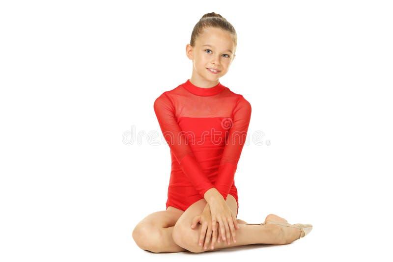 Gymnast νέων κοριτσιών στοκ εικόνες με δικαίωμα ελεύθερης χρήσης