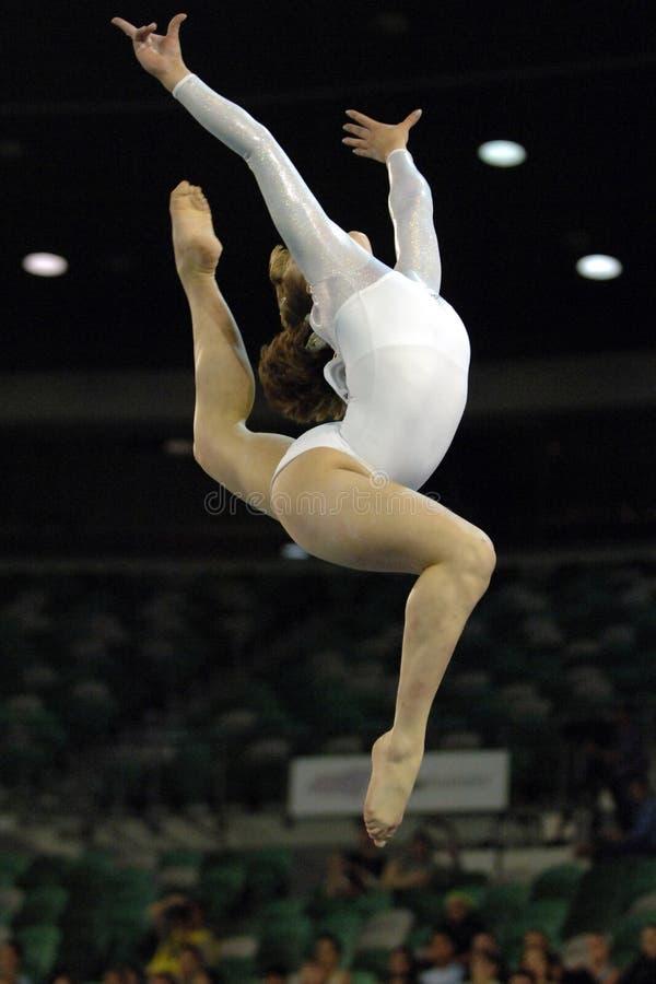 Gymnast 01 stock photos